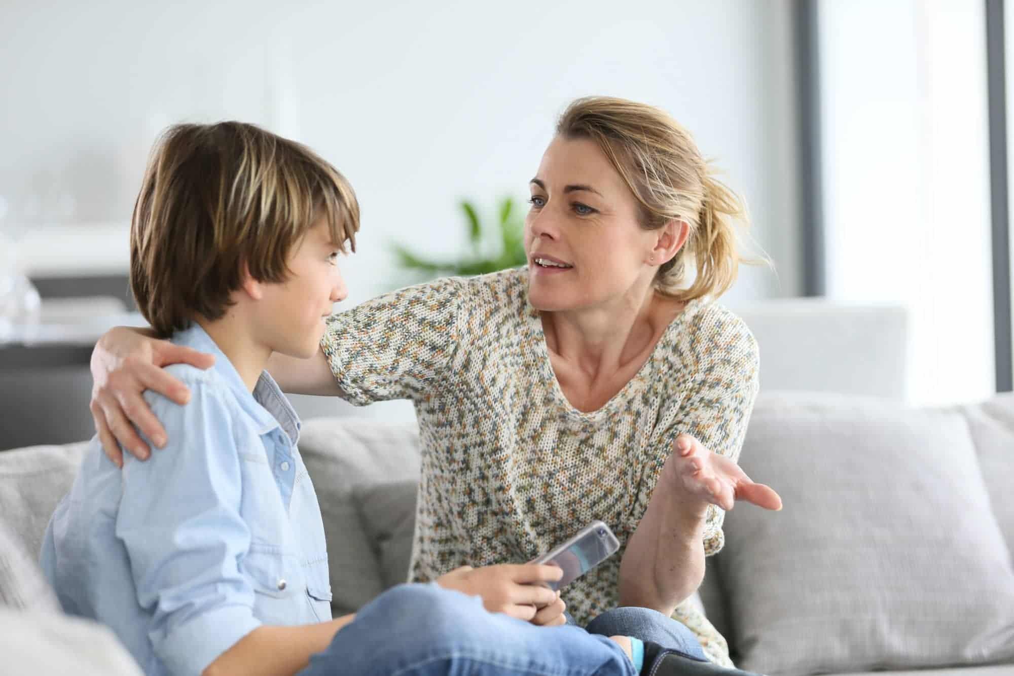 اصول نه گفتن به کودک