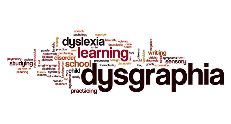 اختلال نوشتن و اختلالات یادگیری