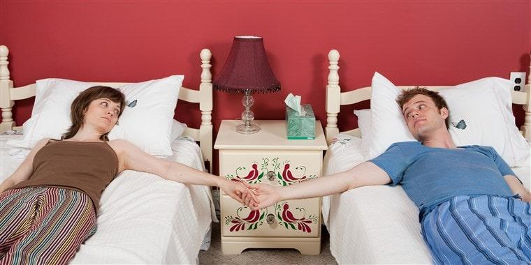جدا خوابیدن از همسر