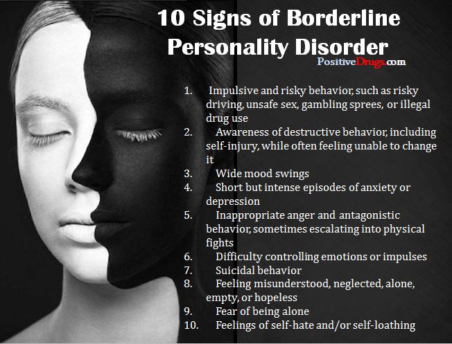 علائم اختلال شخصیت مرزی