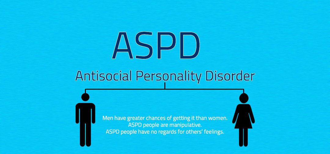 اختلال شخصیت ضد اجتماعی در مردان و زنان